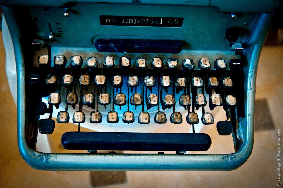 Newsletter - typewriter