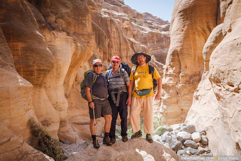 Wadi Ghuweir trek