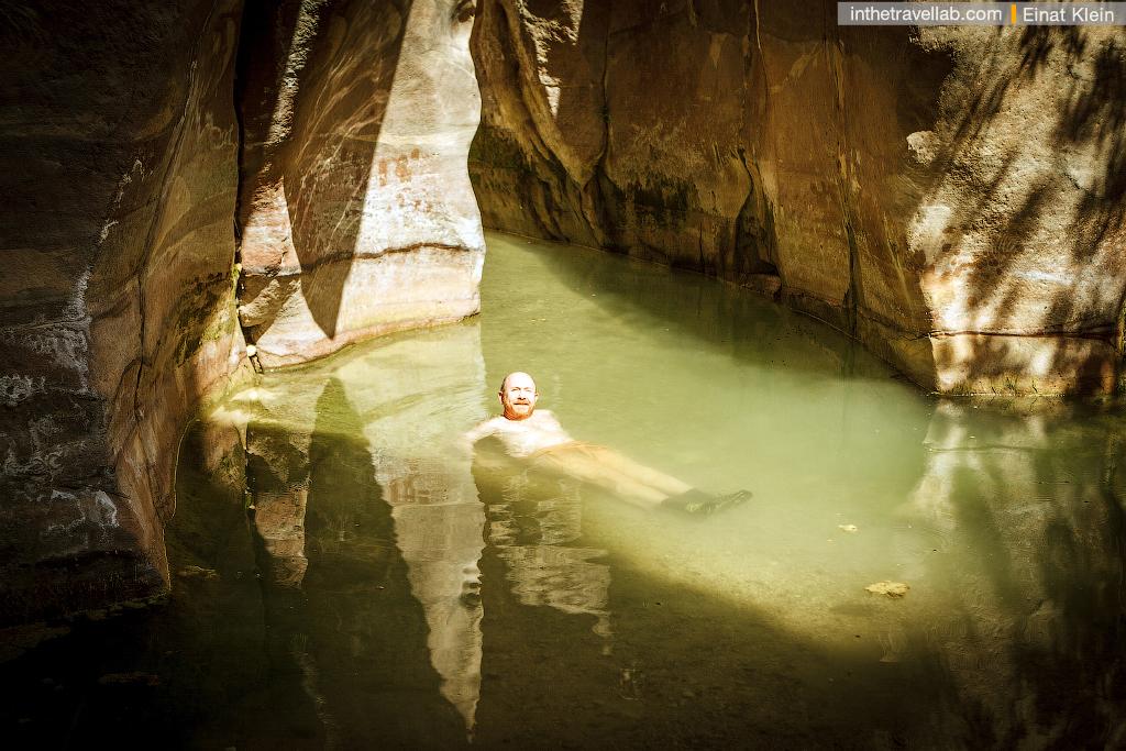 Wadi Ghuweir trek, Jordan