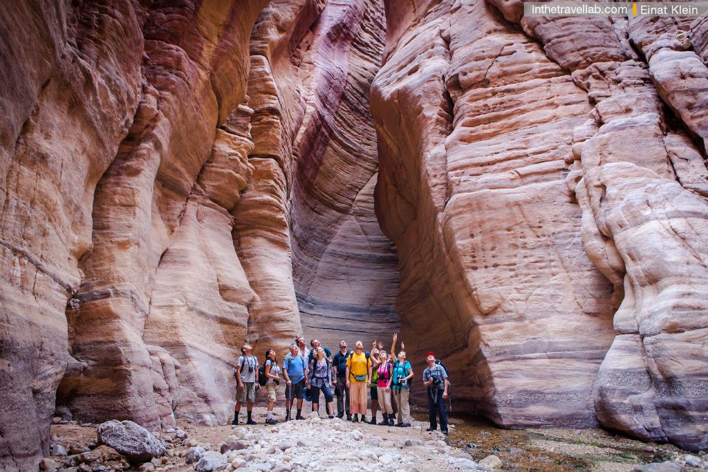 Trekking in Wadi Khudeira