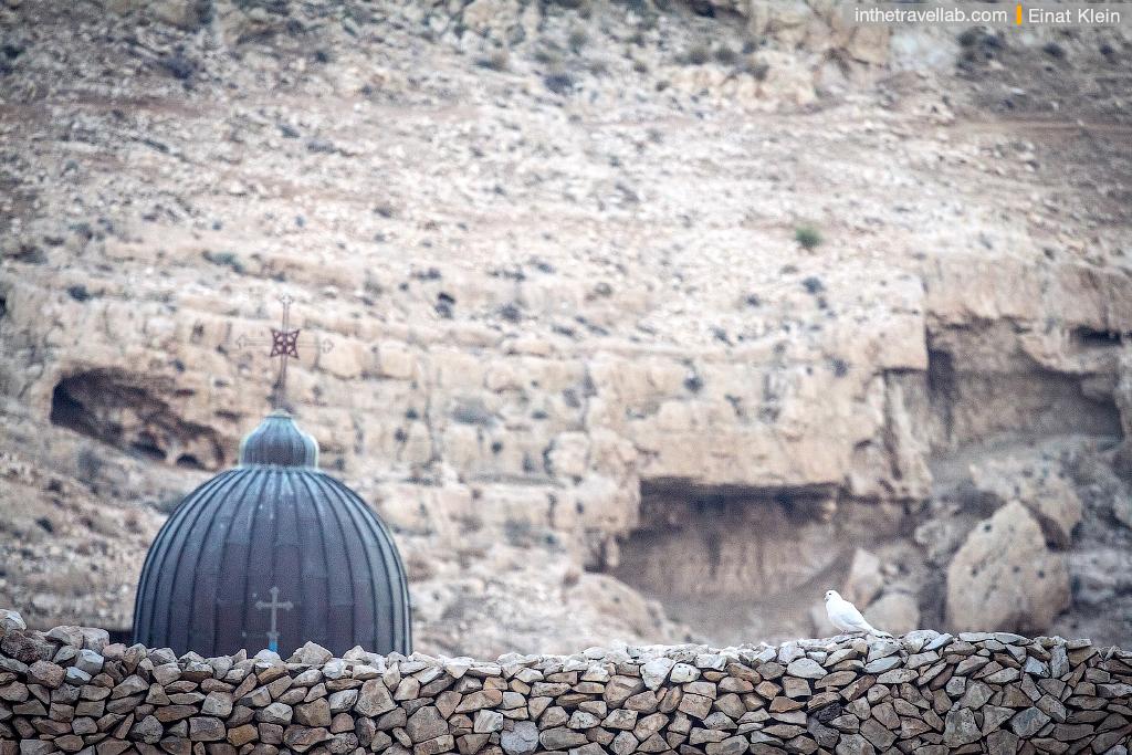 Mar Saba monastery in Judean desert, Israel.