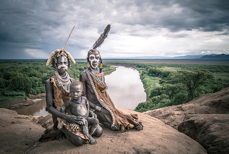 Last hidden tribes of Ethiopia