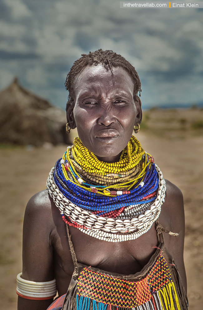 Nyangatom woman, Omo River